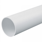 Round PVC conduit - Rigid (sold per 3M length), White, 20mm