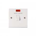 Polar 20A double pole switched - Water Heater - neon