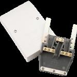 Polar 45A dual appliance connection unit