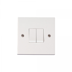 Polar 2 gang 2 way light switch