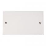 Polar 2 gang blank plate