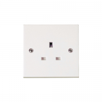 Polar 1 gang un-switched socket