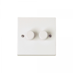 Polar 2 gang 2 way dimmer 40-250w