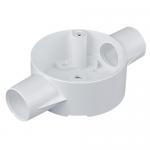 20mm PVC conduit accessories - Through box