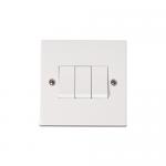 Polar 3 gang 2 way light switch