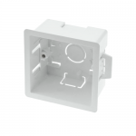 Dry line plasterboard back boxes - 1 gang 32mm