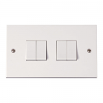 Polar 4 gang 2 way light switch