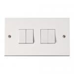 Polar 4 gang 2 way light switch