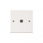 Polar single coax outlet