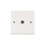 Polar single coax outlet