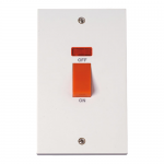 Polar 45a vertical switch with neon