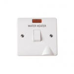 Mode 20A double pole switch with flex outlet - Water Heater