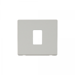 Definity white cover plate for 1 gang light switch