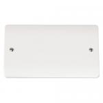 Mode 2 gang blank plate