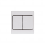 Mode 2 gang wide paddle light switch