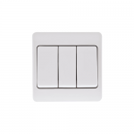 Mode 3 gang wide paddle light switch