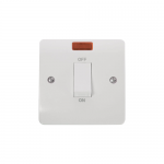 Mode 45A double pole switch with neon