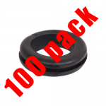 25mm open grommets (100)