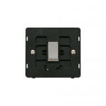 Definity intermediate switch black insert - chrome