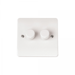 Mode 2 gang 2 way dimmer 40-250w