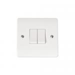 Mode 2 gang 2 way light switch