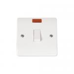 Mode 20A double pole switch with neon