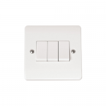 Mode 3 gang 2 way light switch