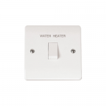 Mode 20A double pole switch - Water Heater