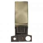 Minigrid 2 way switch module - Antique brass