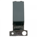 Minigrid 2 way switch module - Black