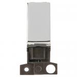 Minigrid 2 way switch module - Polished chrome