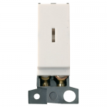 Minigrid key switch module - Polar white