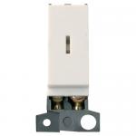 Minigrid key switch module - Polar white