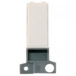 Minigrid blanking module - Polar white