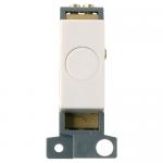 Minigrid 20A flex outlet module - Polar white, White