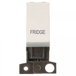 Minigrid 13A 2 pole switch module marked - Polar white, Fridge