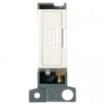 Minigrid 13A fused connection unit - Polar white, White