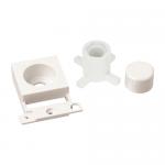 Minigrid dimmer mounting kit (double width) - Polar white