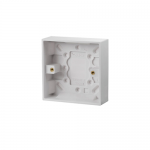 Pattress back box - Polar (square), 1 gang 16mm