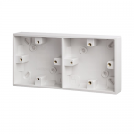 Pattress back box - Polar (square), Dual 1+1