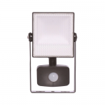 10w LED floodlight with PIR 6000K