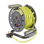 2 gang 25m extension reel with USB