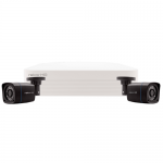 Rekor 2 grey bullet camera CCTV kit