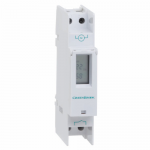 Din rail mounted digital timer