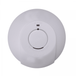 Mains smoke detector alarm with battery back up - wireless interlink