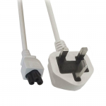 0.5m lead 13A plug to C5 connector (IEC lead)