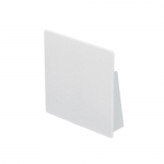 100x100mm trunking end cap