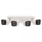 Rekor 4 white bullet camera CCTV kit
