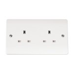 Mode 2 gang un-switched socket